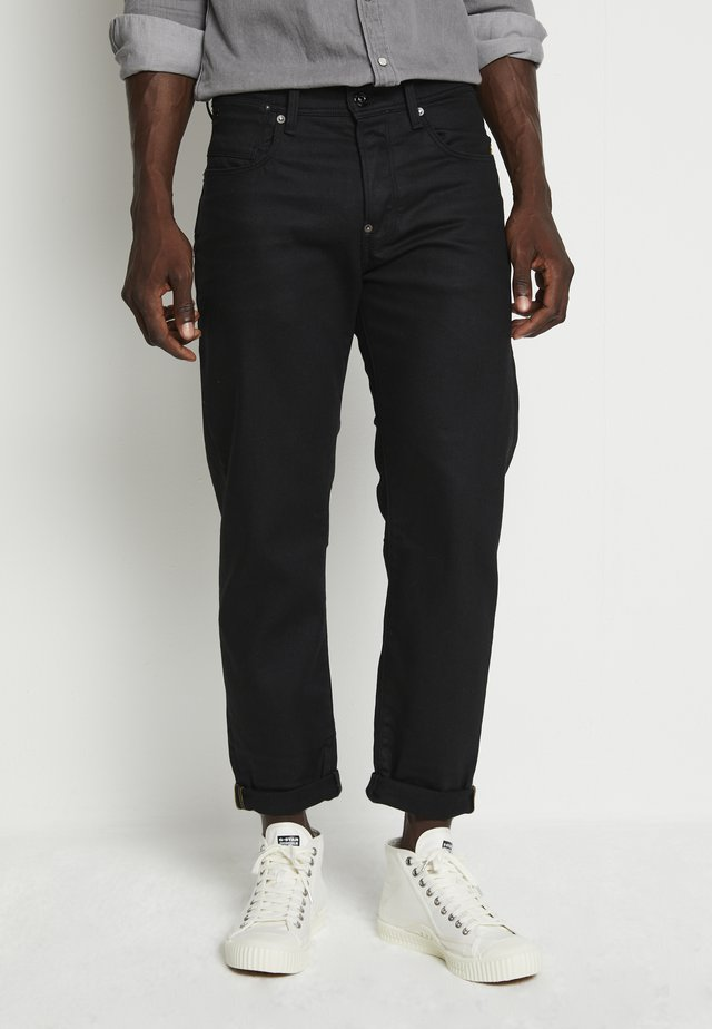 ALUM RELAXED TAPERED ORIGINALS - Jeansy Relaxed Fit - 3d pitch black