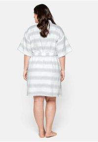 Sheego - Dressing gown - gestreift - 2