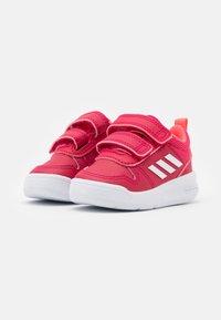 adidas Performance - TENSAUR UNISEX - Walking trainers - power pink/footwear white/signal pink - 1