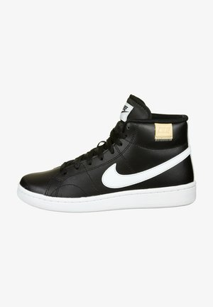 High-top trainers - black / white