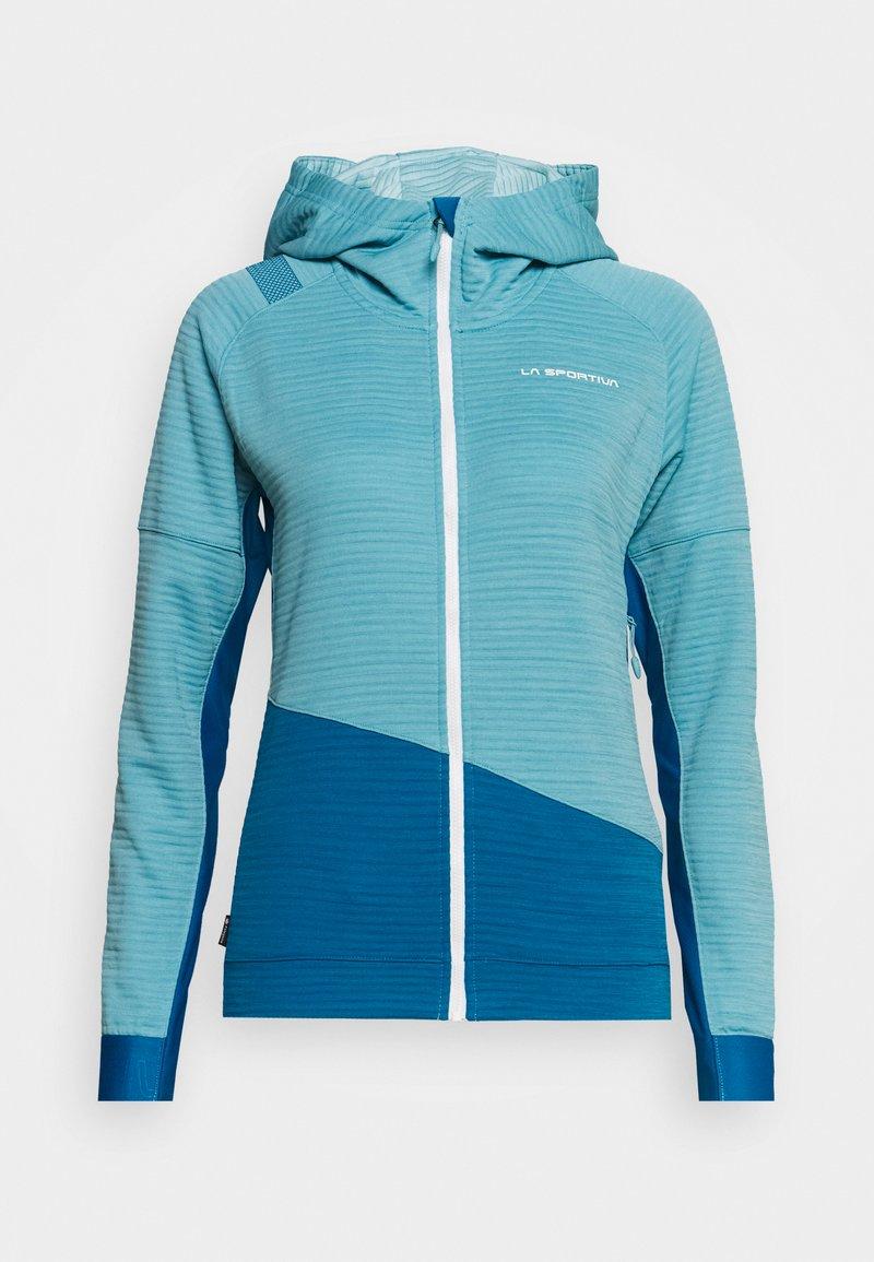 La Sportiva - AIM HOODY - Treningsjakke - pacific blue/neptune