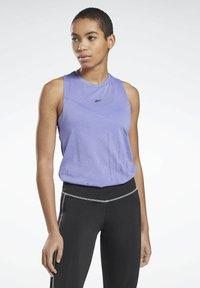 Reebok - ONE SERIES SPEEDWICK REECYCLED TANK - Sports shirt - purple - 0