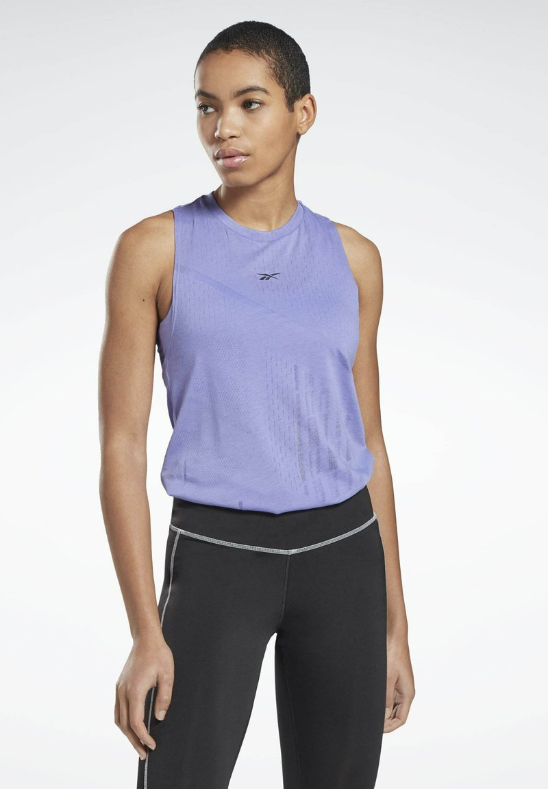 Reebok - ONE SERIES SPEEDWICK REECYCLED TANK - Sports shirt - purple