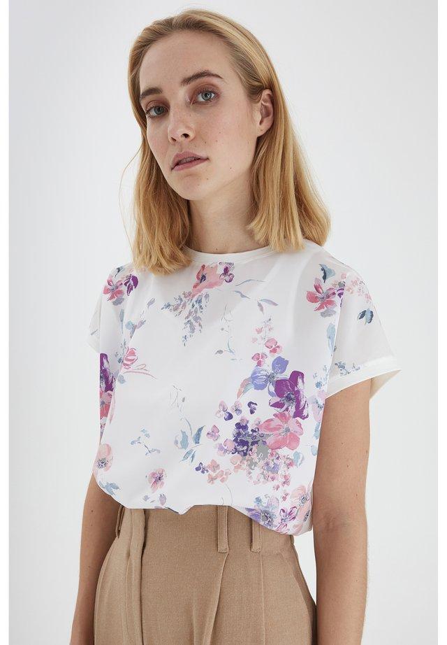 T-shirt imprimé - off white mix