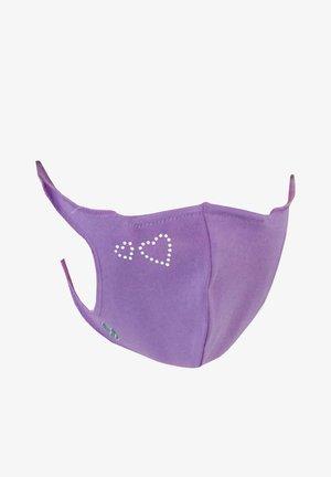 Maschera in tessuto - violett