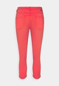 Esprit - MR CAPRI - Trousers - orange red - 1