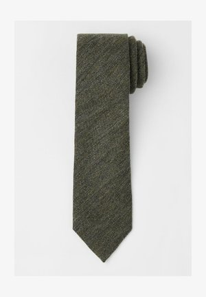 Tie - moss green