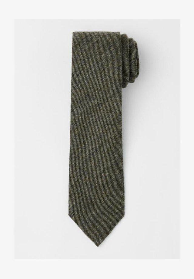 Krawat - moss green
