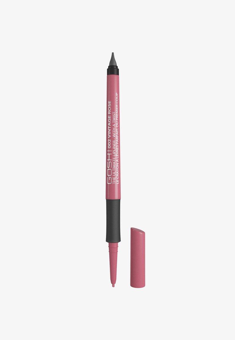 Gosh Copenhagen - THE ULTIMATE LIPLINER - Lip liner - 002 vintage rose