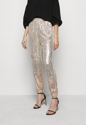 ANNUNZIARE  - Trousers - gold