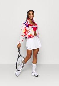 Nike Performance - JACKET - Training jacket - white/solar red/citrus/ultramarine - 1