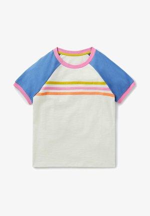 Print T-shirt - naturweiß