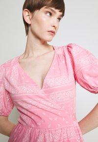 Never Fully Dressed - BANDANA DRESS - Maxi dress - pink - 4