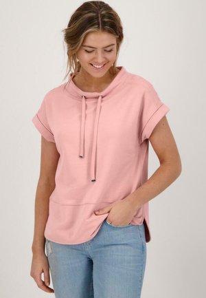 Sweatshirt - pink rose