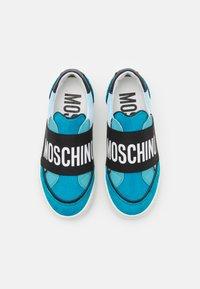 MOSCHINO - UNISEX - Nazouvací boty - blue - 3