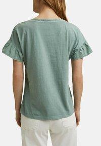 Esprit - WASH TEE - Print T-shirt - turquoise - 7