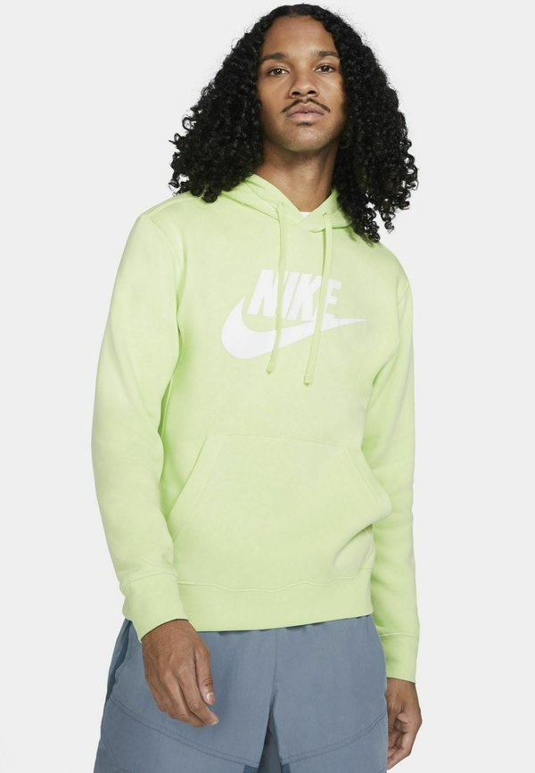 Nike Sportswear Bluza z kapturem - light liquid lime/light liquid lime/jasnozielony Odzież Męska DQTM