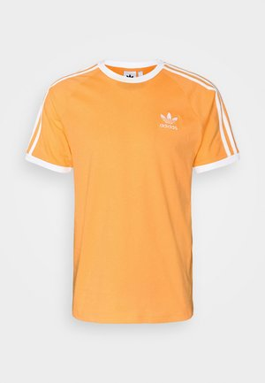 STRIPES TEE - T-shirt con stampa - hazy orange