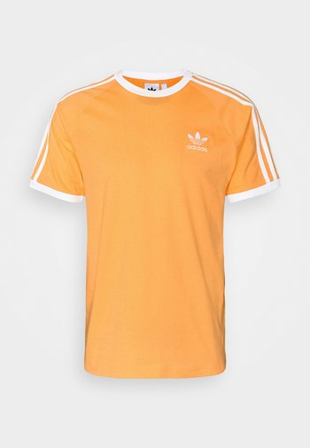 STRIPES TEE - T-shirt med print - hazy orange