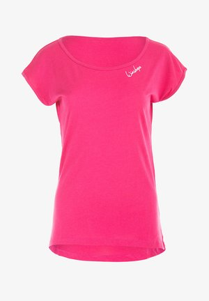 MCT013 ULTRA LIGHT - Basic T-shirt - deep pink