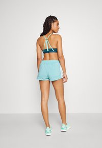 adidas Performance - PACER - Sports shorts - mint ton/white - 2