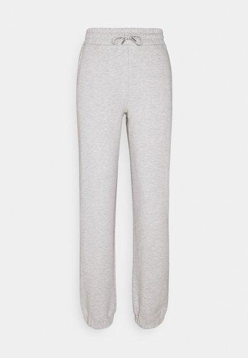 SLFALANA PANTS - Träningsbyxor - medium grey melange