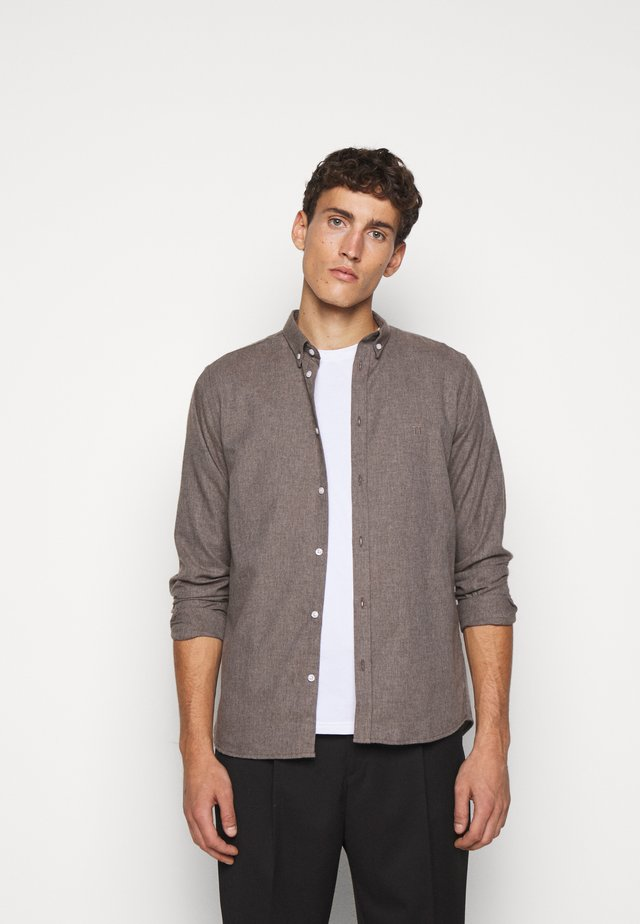 DESERT - Shirt - brown melange