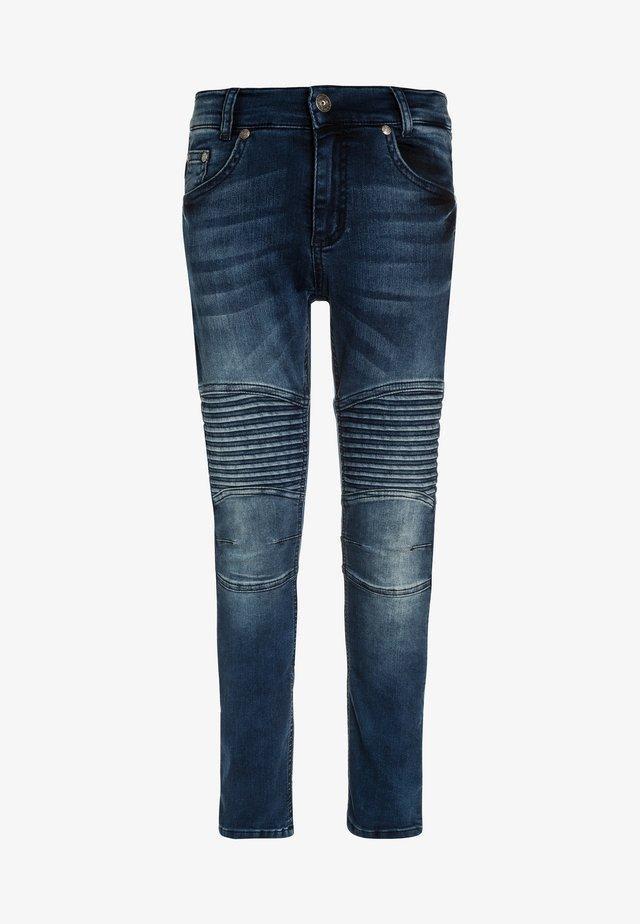 BIKER - Jeans Skinny Fit - blue denim