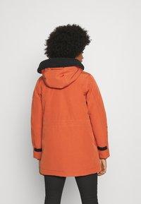 G-Star - NEW DUTY SHORT - Parka - dusty royal orange - 2