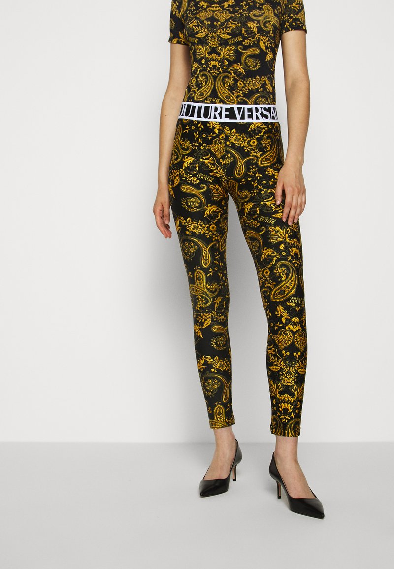 Versace Jeans Couture - Leggings - Trousers - black