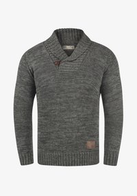 Solid - PHIL - Jumper - dark grey - 4