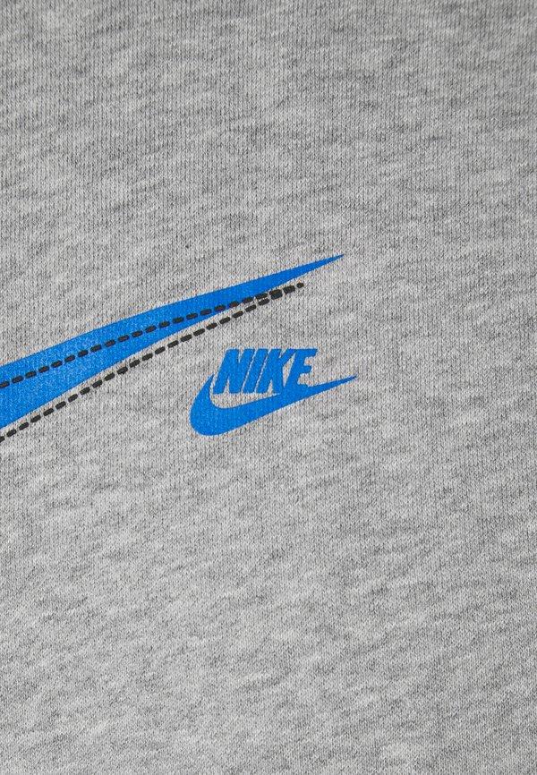Nike Sportswear COURT HOODIE - Bluza - grey heather/szary Odzież Męska XROA