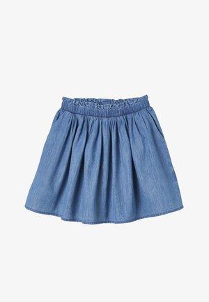 A-line skirt - blue stone