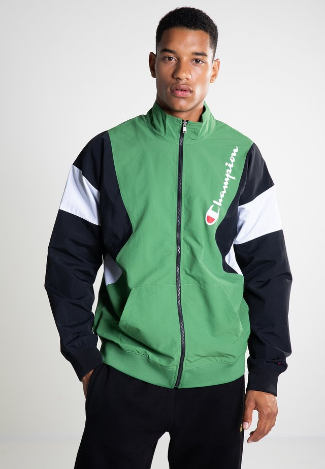 BACK TO THE 90 - Summer jacket - willow bough/new black/white