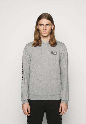 FELPA - Felpa con cappuccio - grey melange