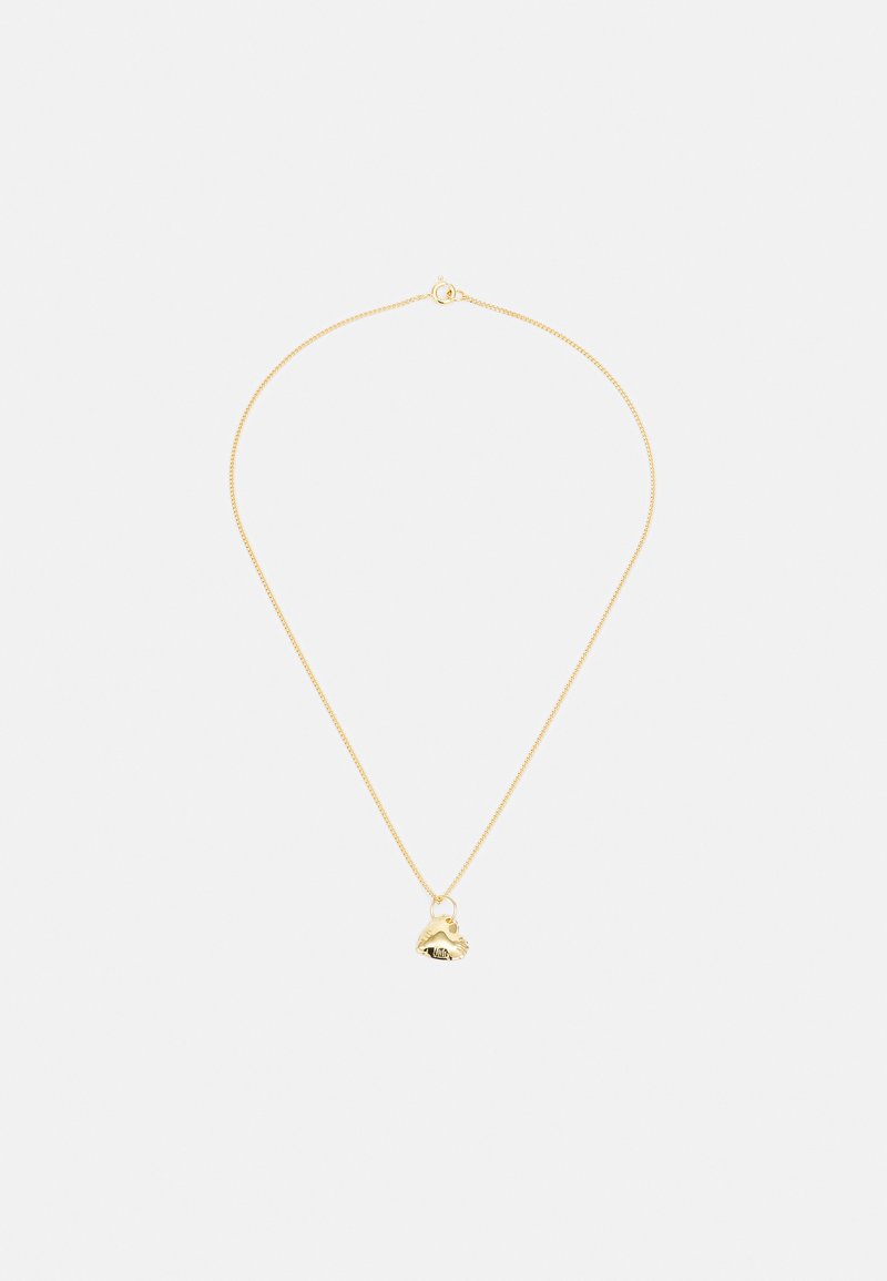 Vibe Harsløf - BALLOON LETTER NECKLACE -HEART - Ketting - gold