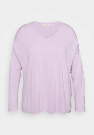 CARAMALIA V NECK - Jumper - orchid bloom