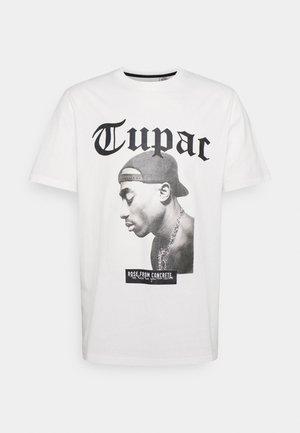 NOAH TEE UNISEX - Print T-shirt - white