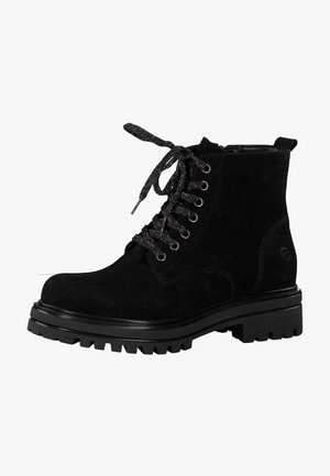 Platform ankle boots - black 1