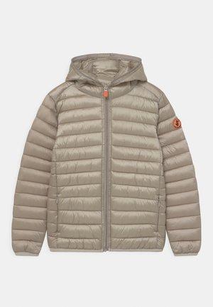 IRIS HOODED UNISEX - Winter jacket - shell beige