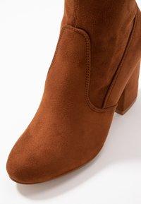 Even&Odd - High heeled boots - cognac - 2
