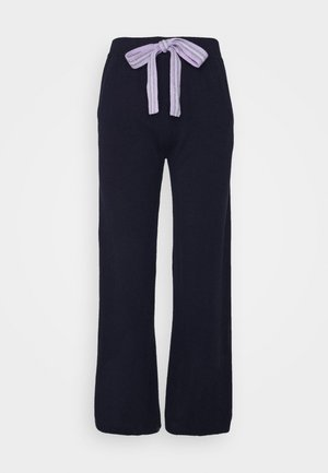 RING MASTER TRACK PANTS - Verryttelyhousut - navy/lilac/ blue