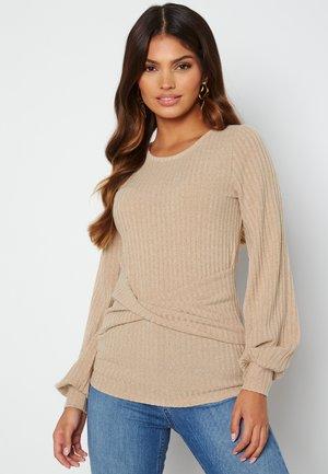 ZANDRA - Long sleeved top - beige