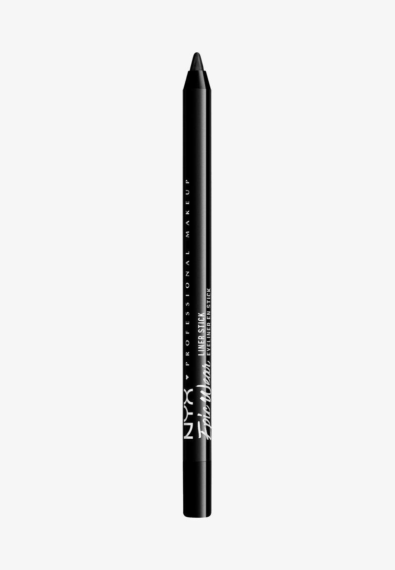 Nyx Professional Makeup - EPIC WEAR LINER STICKS - Eyeliner - 08 pitch black