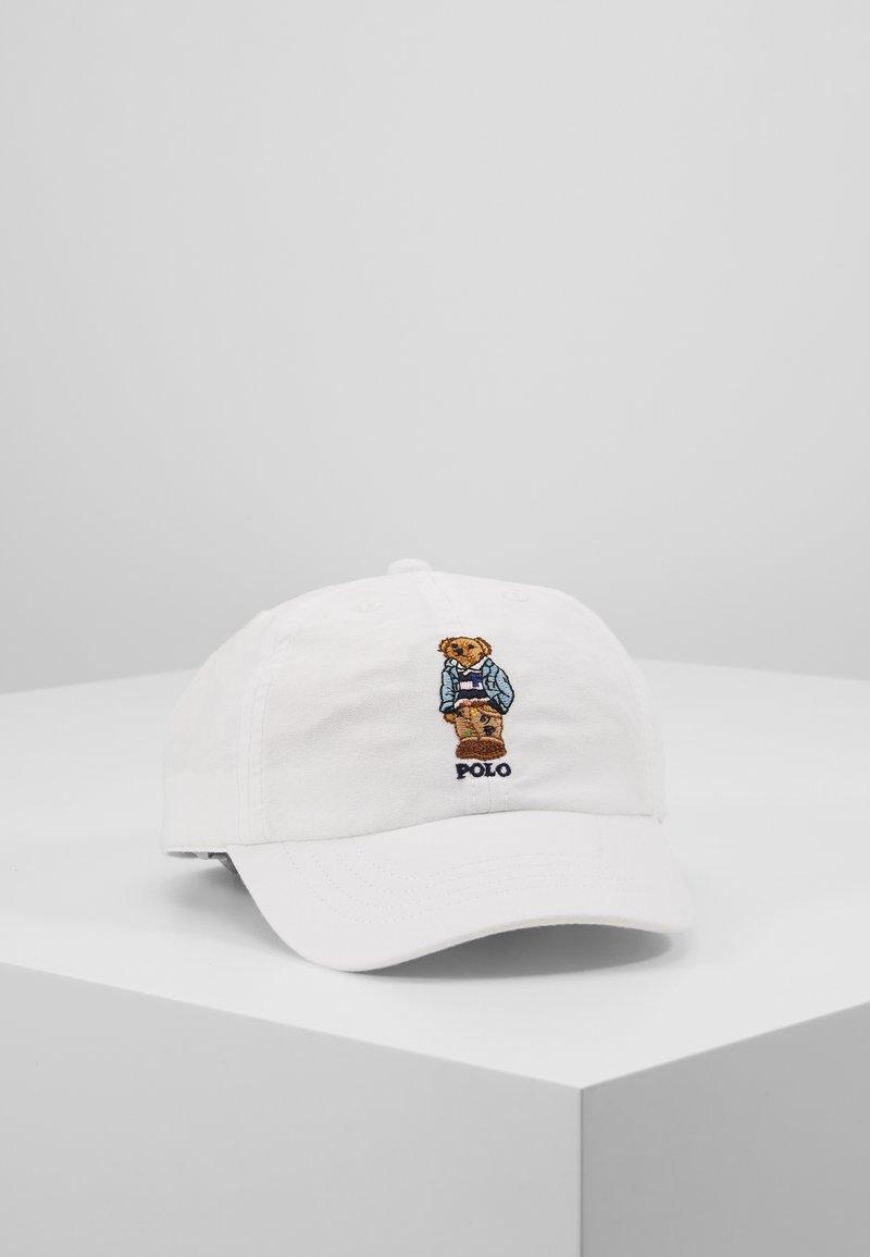 Polo Ralph Lauren - SPORT APPAREL ACCESSORIES HAT - Kšiltovka - white