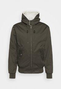 SINATRA HOODED - Light jacket - khaki