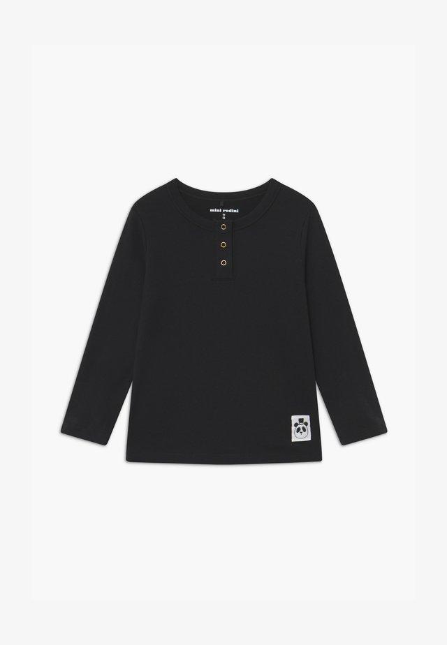 BASIC GRANDPA - Maglietta a manica lunga - black