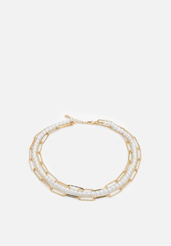 PCILLY CHOKER NECKLACE - Necklace - gold-coloured