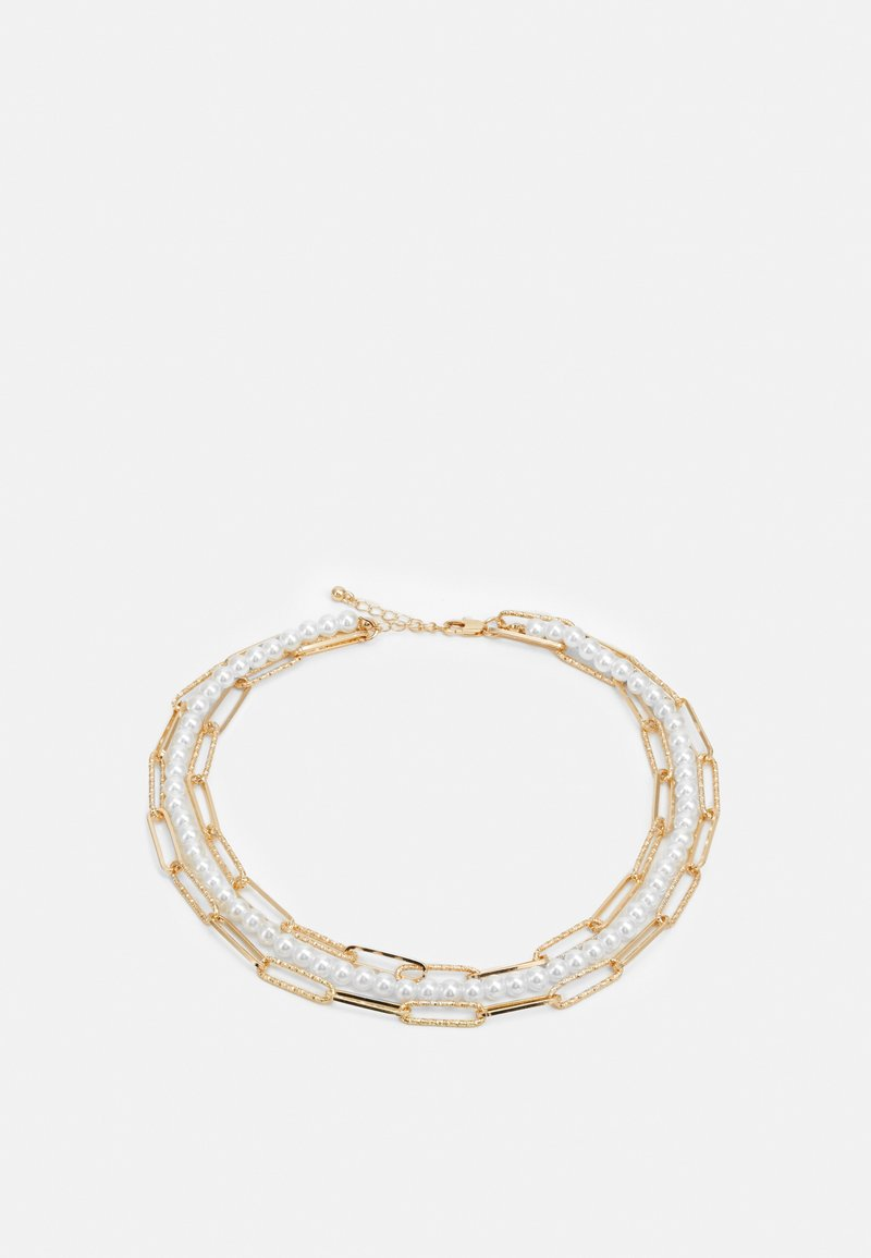 Pieces - PCILLY CHOKER NECKLACE - Smykke - gold-coloured