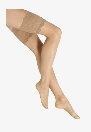 TRES FEMME - Over-the-knee socks - nude